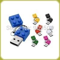 Mini Block usb key pen drive  2gb 4gb 8gb 16gb 32gb usb flash drive stick pendrive disk Free shipping