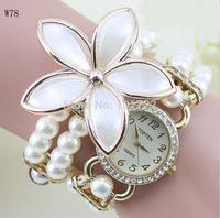 Handmade Fashion Pearl Hand Watch Price