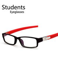 Fashion Women Men Square College Geek Nerd Spectacles Trendy Cheap Eyeglasses Free shipping