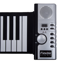 2014 New Fashion Hot  Sale  61 USB  Keys MIDI Digital Flexible  Roll-Up Soft Electronic Keyboard piano suitable for all lovers(China (Mainland))