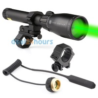 Laser Genetics ND3 x40 Long Distance Green Laser Designator with Mount New Free Shipping