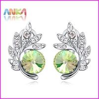 2014 Lover Swa Elements Crystal Earrings For Women Fashion Earrings Jewelry Wholesale #110834