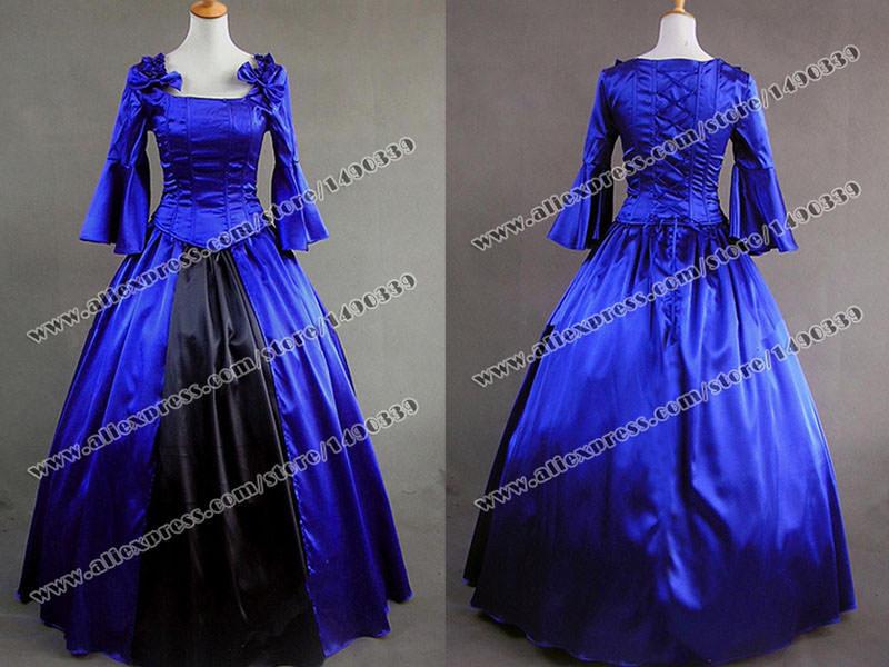 Elegant ball gown prom blue half sleeves wedding dress fast shipping