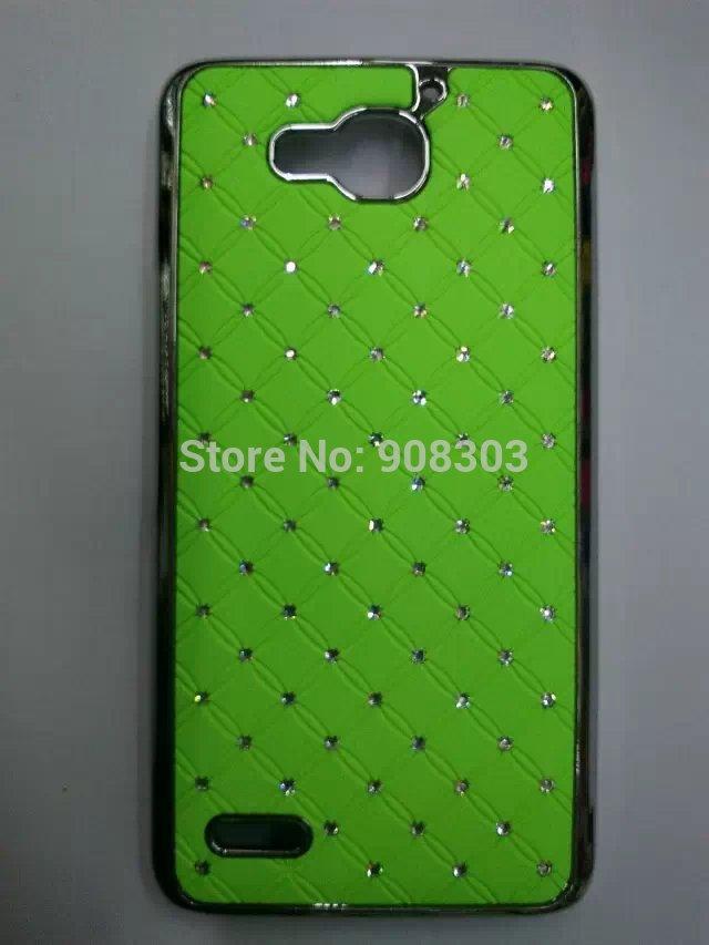 10pcs/lot Diamond Chrome Starfall Bling Hard Rhinestone Babysbreath Cases For Huawei Honor 3x Pro G750 cell phone Cover Case(China (Mainland))
