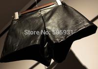 Fashion Women PU Leather Shorts Winter Autumn Spring Wearing High Quality