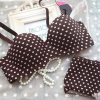 2014 young women Jelly push up one piece seamless soft advanced fabric underwear bra small circled heart