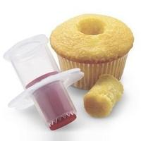 Plastic New Cupcake Corer Plunger Cutter Pastry Cake Decorating Divider Filler Mode V3NF