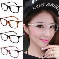 2015 Brand designer Chain eyeglasses frame women stylish square frames Spectacles lady elegant decoration eye wear