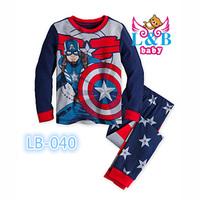 15 Nov Boys Hero Pajamas Sets Children Autumn -Summer Clothing Set New 2014 Wholesale Kids Cartoon 2-7Y Pyjamas LB-040 3D