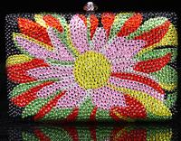 2014 Crystals Evening bag,Women Fashion Hard Case Metal Purses Party Handbags ,CB370C