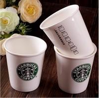 Free shipping (3pcs/lot) Starbucks Wind Ceramic Cup 100-200ML Coffee mug