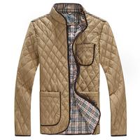 2014 brand down jacket men cotton jacket  turn-down collar wadded Men Jacket England Style Mens Coat  Sportswear winter Clothing