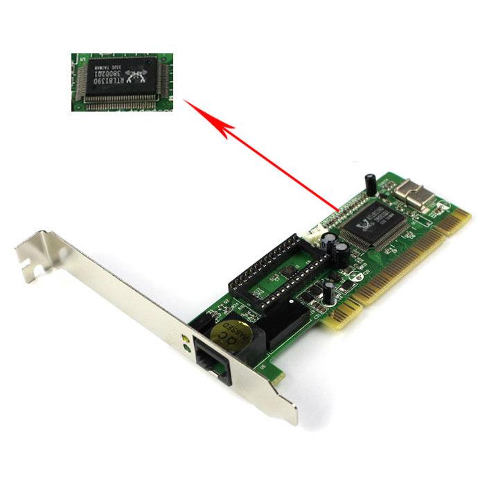 Сетевая карта To-Better 10/100 /rj45 Ethernet LAN PCI & s 0P233A pci e to