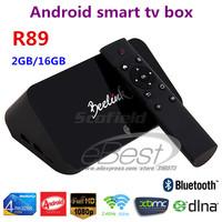 Beelink R89 RockChip RK3288 Android TV BOX Quad Core 1.8GHz 2G/16G 2.4G/5GHz WiFi H.265 OTA HDMI 4K*2K RJ45 OTG SPDIF Smart TV