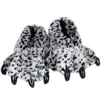 Plush USB Foot Warmer Shoes  Soft Electric Heating Slipper Cute Lavender Leopard cat's paw Chopper  Many colors