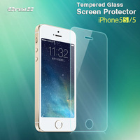10pcs Camber 0.33mm Ultra Thin HD Clear Explosion-proof Tempered Glass Screen Protector Cover Guard Film for iPhone 5 5G 5S