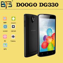 Free shipping Original Doogee MINT DG330 Smartphone MTK6582 Quad Core Android 4.2 1GB RAM 4GB ROM 5.0″ 5MP 3G WIFI GPS Daisy