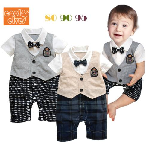 Designer Clothes For Baby Boys For Cheap Formal dress plaid clothes