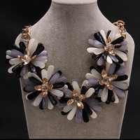 2014 new autumn/winter fashion women necklace, luxury brand jewelry necklaces&pendants, colorful acrylic statement necklace,N006