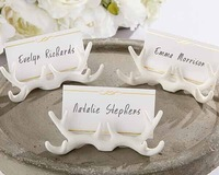 New Arrival Factory Selling Wedding Decoration Resin Antler Place Card Holder wedding favors supplies 48pcs/lot Free Shipping