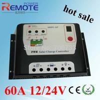 Solar Charge Controller Solar Panel Battery Regulator Safe Protection Controle 60A 12V/24V Regulator