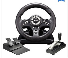 Lima shida 3 pxn-v18s computer game steering wheel artificial automobile race belt handbrake(China (Mainland))