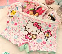 New 12 Pack Cotton Boxer Baby Girl KITTY Princess Print Underwear