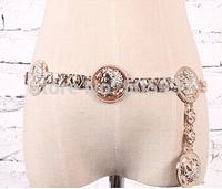Anaglyph Design Belt Adjustable Fashion Women Accessories