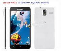 Free shipping Original new Lenovo A785E GSM+CDMA EVDO Android smart phone 1GB+4GB CDMA 2000 1X