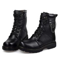 Black color men boots,winter cotton man shoes,wamr boots shoes Size38-44