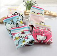 New 12 Pack Cotton Boxer Baby Girl KITTY Print Underwear