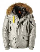 Hot Brand RIGHT HAND MAN 100% Down Jacket Short Parka Winter Outdoor Puffer Coat Real Fur Outerwear Parkas Gobi Kodiak Down 629