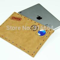 Retro Exquisite Universal Business Style High-Grade Envelope Design Soft Case Bag For iPad 2/3/4/5/Air/mini/mini 2