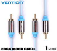 Vention 1M 2RCA to 2RCA Male Audio Cable RCA Aux Cables For DVD/CD/TV/Computer Speaker Cable