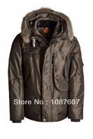 Winter Puffer Coat Hot Brand RIGHT HAND MAN Down Jacket Dun Jakke Brown Short Parka Fur Outerwear Parkas Gobi Kodiak Down 629