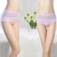 Top sales!!  Sexy women's 100% cotton  Briefs panties modeal style print sexy panties