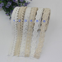 New arrived!!! white and Ivory  Diy office adhesive cotton lace tape DIY Tape fabric tape(20pcs/lot)