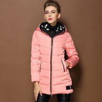 2014 New Ariive Women's Winter Outer Wear Warm Coat Glengarry Hooded Parkas