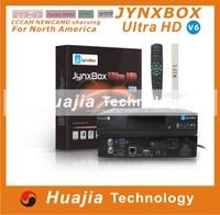 2pcs Original jynxbox ultra hd v6 with JB200 module build in wifi YouTube HDMI JynxBox V6 for North America  HOT SELL
