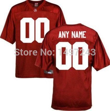 Customized Alabama Crimson Tide College Football Jerseys SEC patch(China (Mainland))