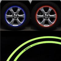 supplies car accessories wheel car covershub glossy parking veneer DIY modified car motorcyclecar styling wheel reflective posts