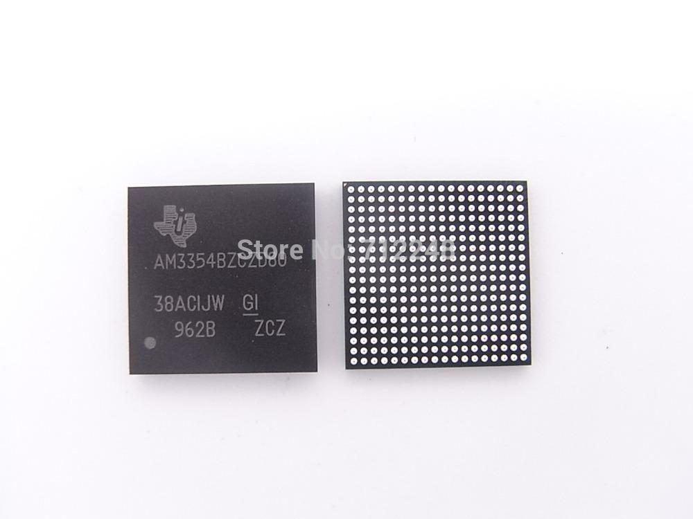 free shipping AM3354BZCZD80 Sitara AM335x ARM Cortex-A8 Microprocessors (MPUs) Applications Printers 100% new and original(China (Mainland))