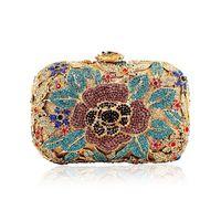 2014 ladies handbags fashion colorful diamond luxury Ladies Bag Party top Diamond Ladies Handbag mini packets high-end package