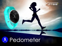 Mi WO IFree Bluetooth Bracelet Watch Smart Healthy Silicone Wristband Sports Watch Time Display Call alarm Pedometer Freeship