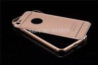 For Apple iphone 6 4.7 inch Metal case for Iphone6 Plus 5.5inch premium Aluminum frame back case