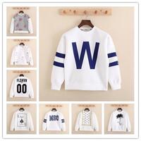 2014 Winter Neoprene structured Women Men unisex couple fashion sweatshirt pullover brand letter printed sweatshirt NH1501