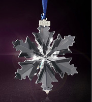 FREE SHIPPING  Automotive decorative pendant, Crystal Car Decoration, crystal Snowflake hanging accessories,car decorative