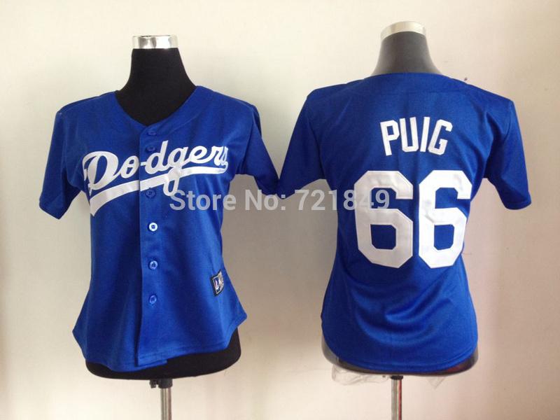 Brand baseball jerseys #66 Yasiel Jers COOLBASE 2015 66 yasiel puig 100