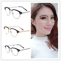 2014 New Arrow Alloy Spindly legs Reading Glasses Frames European Standards Men Women Decorative Glasses Writing Glasses Frames