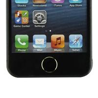 Hot-sale 2Pcs Black+ 2Pcs White Metal Aluminum Home Button Keyboard Keypad Sticker For iPhone 5 5S Wholesale